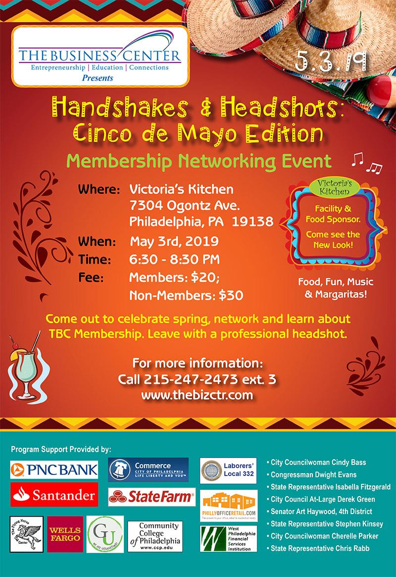 Handshakes & Headshots: Cinco de Mayo Edition