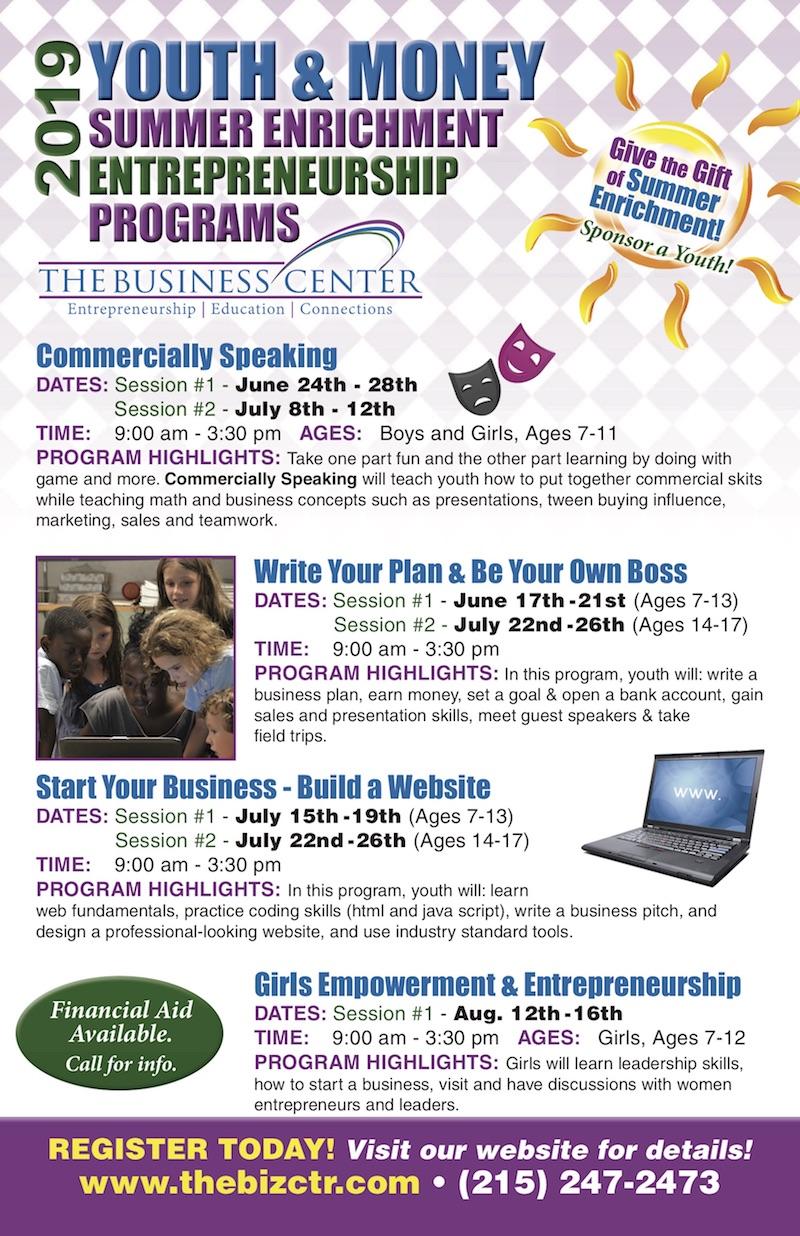 TBC19SummerYouth programs