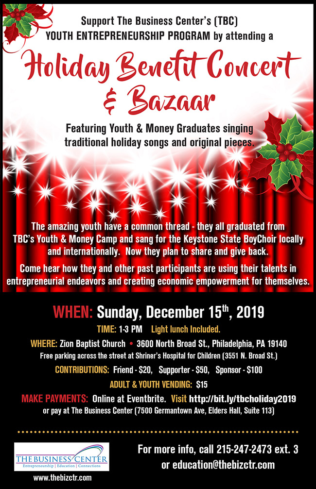 Holiday Benefit Concert