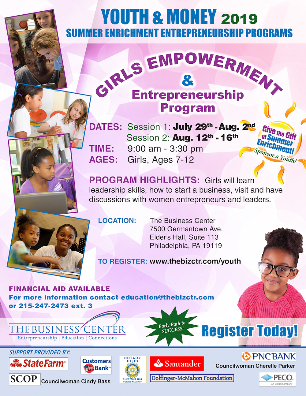 Girls Empowerment Flyer - image