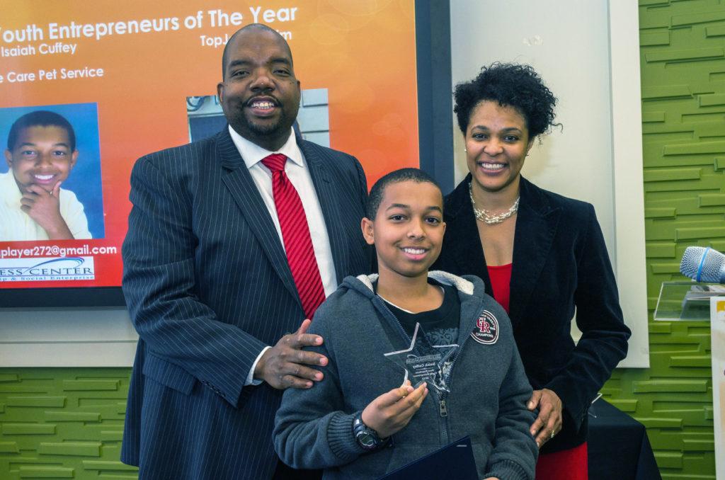 Youth Entrepreneur award