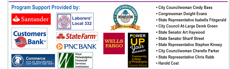 TBC Virtual Business Plan Course sponsors