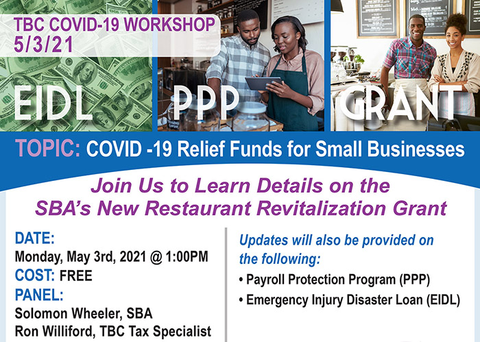 COVID Relief-Restaurant Revitalization Grant header