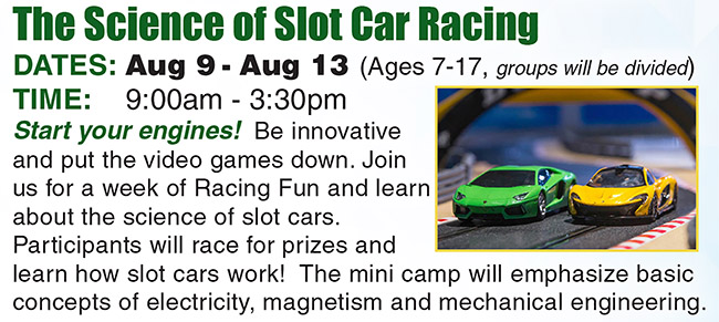 The Science of Slot Car Racing