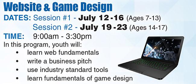 Website & Game Design