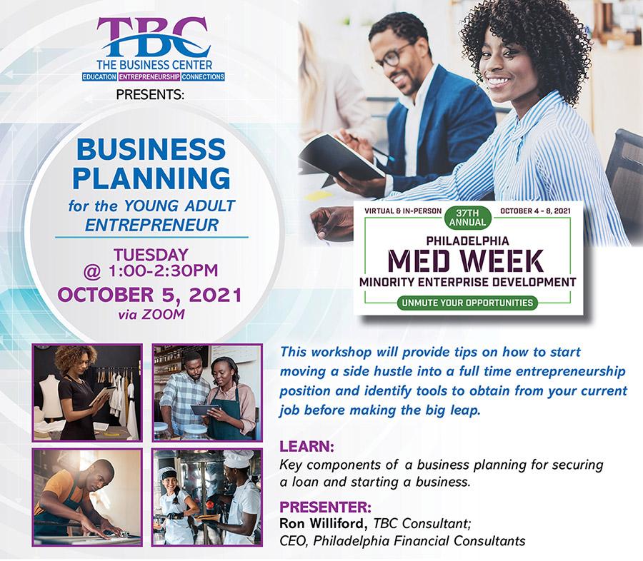 MED Week - Business Planning