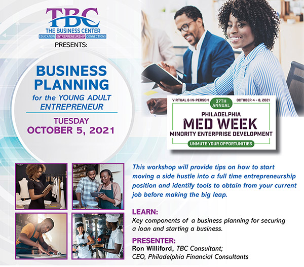 Business Planning: MEDWeek 2021