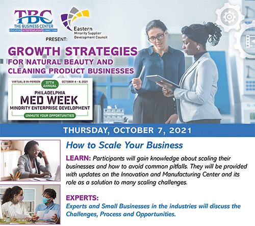 TBC Med Week 2021: Growth Strategies