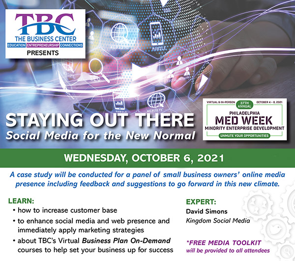TBCMed Week2021 Staying Out There